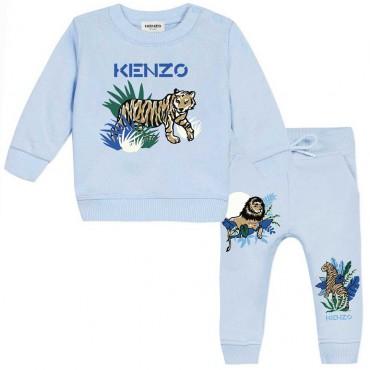 Dres niemowlęcy z bawełny organicznej Kenzo 004635 - ekologiczne ubranka dla niemowląt i dzieci - sklep internetowy euroyoung.pl
