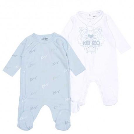 Pajacyki niemowlęce dla chłopca Kenzo 004634 - ekskluzywne ubranka dla noworodków - sklep internetowy euroyoung.pl