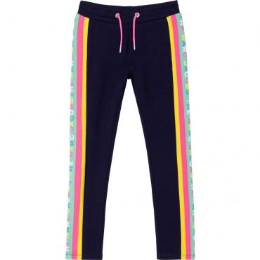 Sportowe spodnie dla dziecka Marc Jacobs 004636 - ekskluzywne ubrania dziewczęce - sklep internetowy euroyoung.pl