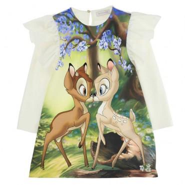 Bajkowa sukienka dziewczęca Monnalisa 004648
