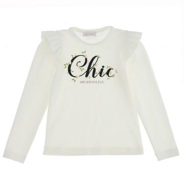 Koszulka dla dziewczynki Monnalisa Chic 004712