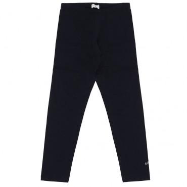 Granatowe legginsy dziewczęce Monnalisa 004730 - ekskluzywne ubrania dla dzieci - sklep internetowy euroyoung.pl