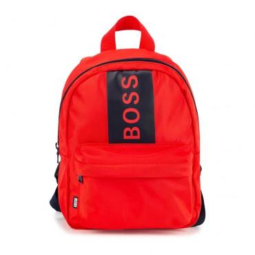 Czerwony plecak dla dziecka Hugo Boss 004759 - sklep internetowy euroyoung.pl