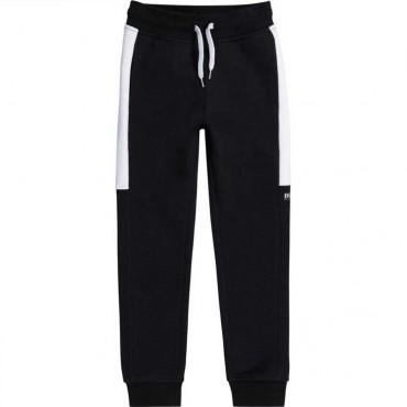 Sportowe spodnie dla dziecka Hugo Boss 004621 - dresy chłopięce - sklep internetowy euroyoung.pl
