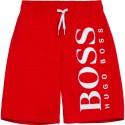 Czerwone szorty kąpielowe dla chłopca Boss 004779