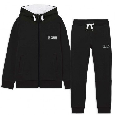 Czarny dres chłopięcy Hugo Boss 004787