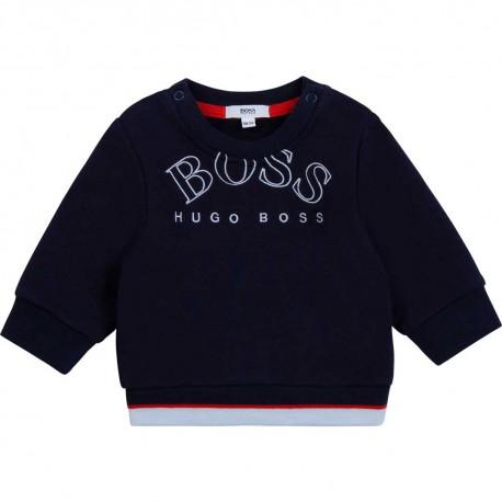 Bluza niemowlęca dla chłopca Hugo Boss 004793 - ekskluzywna odziez niemowlęca - internetowy sklep dla dzieci euroyoung.pl