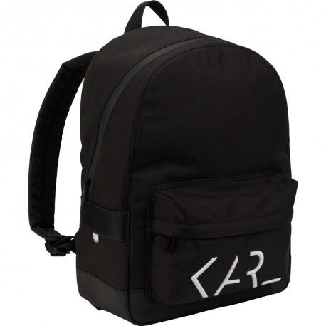 Czarny plecak Karl Lagerfeld 004799 - ekskluzywne plecaki szkolne i przedszkolne, torby - sklep internetowy euroyoung.pl