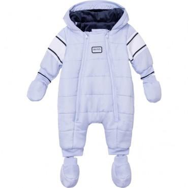 Niebieski kombinezon niemowlęcy Hugo Boss 004832