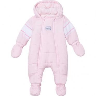 Różowy kombinezon niemowlęcy Hugo Boss 004833