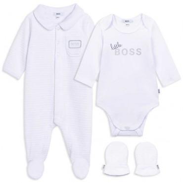 Komplet niemowlęcy gift box Hugo Boss 004834