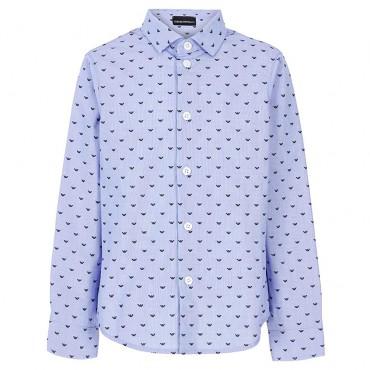 Niebieska koszula chłopięca Emporio Armani 004841
