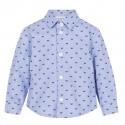 Niebieska koszula niemowlęca Emporio Armani 004844