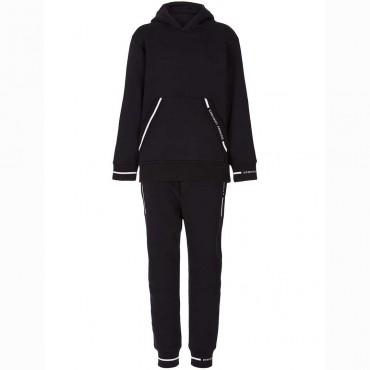 Czarny dres chłopięcy Emporio Armani 004847 A - ekskluzywne ubrania dla dzieci - sklep internetowy euroyoung.pl