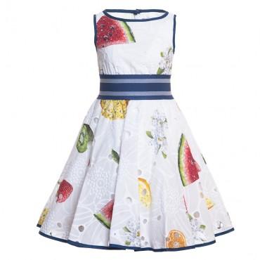 Koktajlowa sukienka dziewczęca Monnalisa 117907
