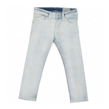 Jasne jeansy dla chłopca Diesel 00J0VC