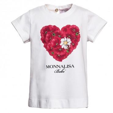 Koszulka niemowlęca Monnalisa Bebe 317601S9
