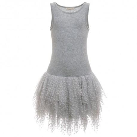 Suknia z tiulem 3275 Monnalisa przód