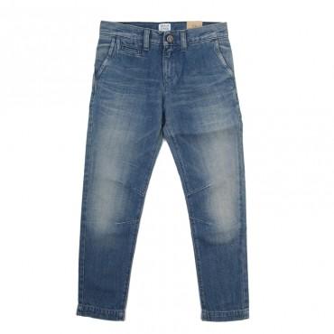 Przecierane jeansy chłopięce Armani Junior B4J30