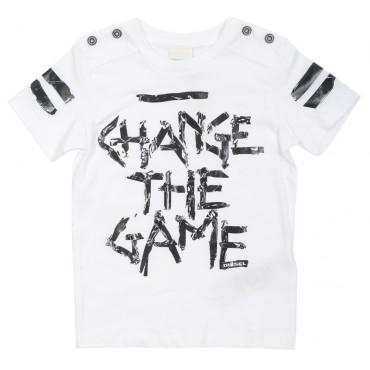 Chłopięcy t-shirt Change the game Diesel 00J2R5