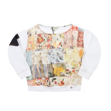 Bluza dziewczęca patchwork Twin Set GS6242
