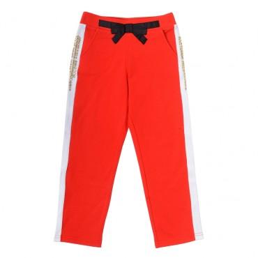 Ekskluzywne spodnie dla dziecka, TWIN SET GS62D4, euroyoung.