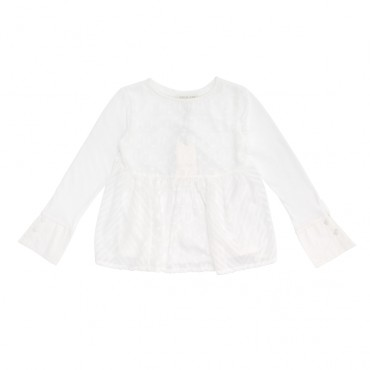 Biała bluzka Twin Set GA52LB A