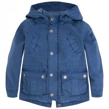 Niebieska parka dla chłopca Pepe Jeans PB400425