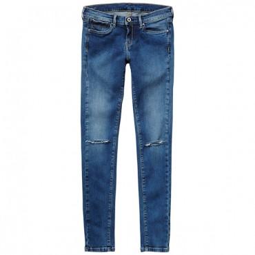 Jeansy z pęknięciami Pepe Jeans PG200503P42