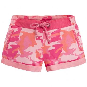 Szorty różowe moro Pepe Jeans AG800005 przód