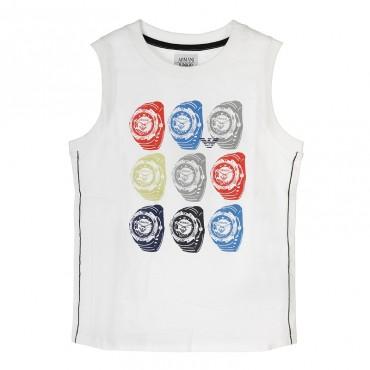 Koszulka ARMANI JUNIOR TXH51 2F 10, euroyoung.