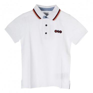 Eleganckie polo dla dziecka Armani Junior TXM51