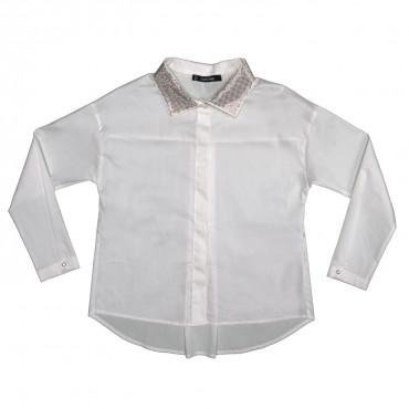 Koszula z dżetami 0001 Monnalisa