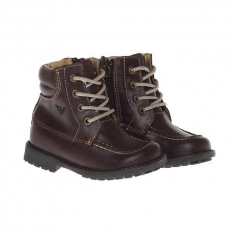 Oryginalne, ekskluzywne buty dla dziecka Armani Junior SX551 NZ C07.