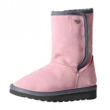Różowe buty Armani Junior ZE532 A