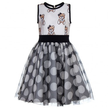Sukienka MONNALISA 118931 8689 5002 - ekskluzywna odzież dla dzieci