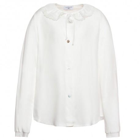Biała bluzka 118306 Monnalisa A