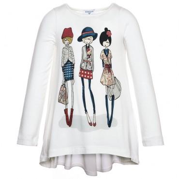 Koszulka Monnalisa - ekskluzywne ubrania dla dzieci