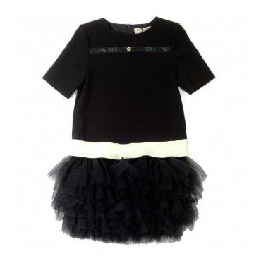 Czarna suknia Twin Set 000039 A
