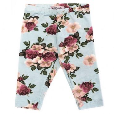 Leginsy w kwiaty 000132 Monnalisa A