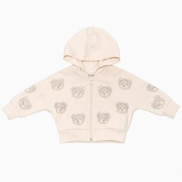 Bluza niemowlęca w misie Monnalisa 000150