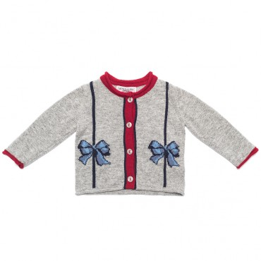 Sweter MONNALISA 000151 - ekskluzywne ubranka dla dzieci i niemowląt.