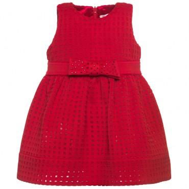 Niemowlęca sukienka z kokardą Monnalisa 000152
