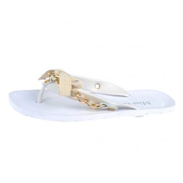 Klapki MISS GRANT 000175 - markowe obuwie dla dzieci.