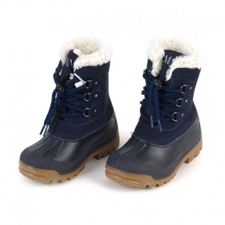 Buty zimowe Armani Junior BX527 19 K5, markowe obuwie dla dzieci.