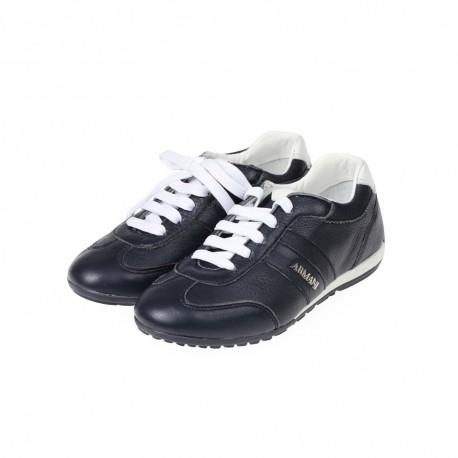 Ekskluzywne buty Armani Junior 04511 CM A5, markowe obuwie dla dzieci.