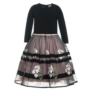 Efektowna sukienka dziewczęca Monnalisa 000220
