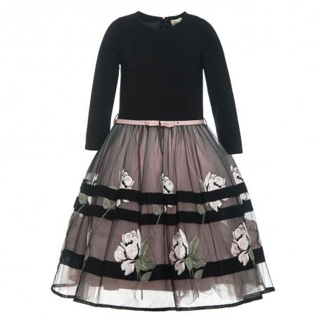 Sukienka tiulowa Monnalisa 000220 A