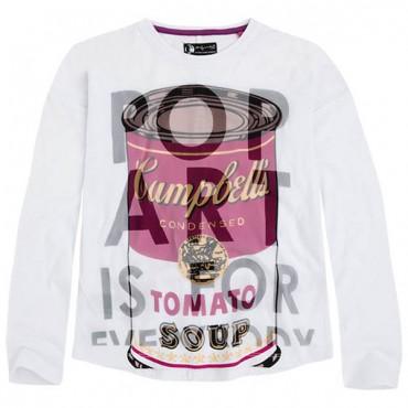 Koszulka dziewczęca Pop Art Pepe Jeans AG500115