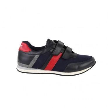 Buty chłopięce zapinane na rzepy Hugo Boss 000284